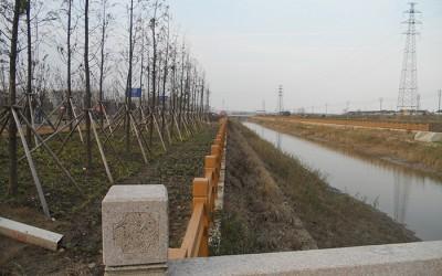 靖江市中小河流治理重点县滨江新区项目区河道工程施工1标
